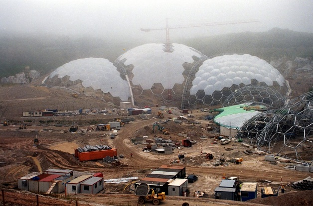 Eden project contruction